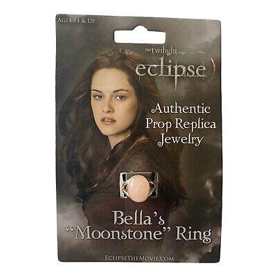 NECA Twilight Eclipse Bella's Moonstone Ring NEW Authentic Prop Replica RARE