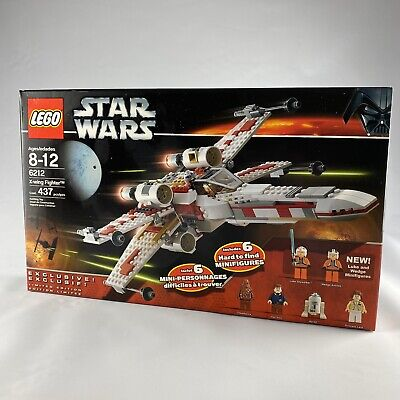 Lego Star Wars 6212 — X-Wing Starfighter — New And Sealed