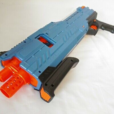 Nerf Rival XVI-1200 Blue With Magazine No Balls Included Used - Excellent