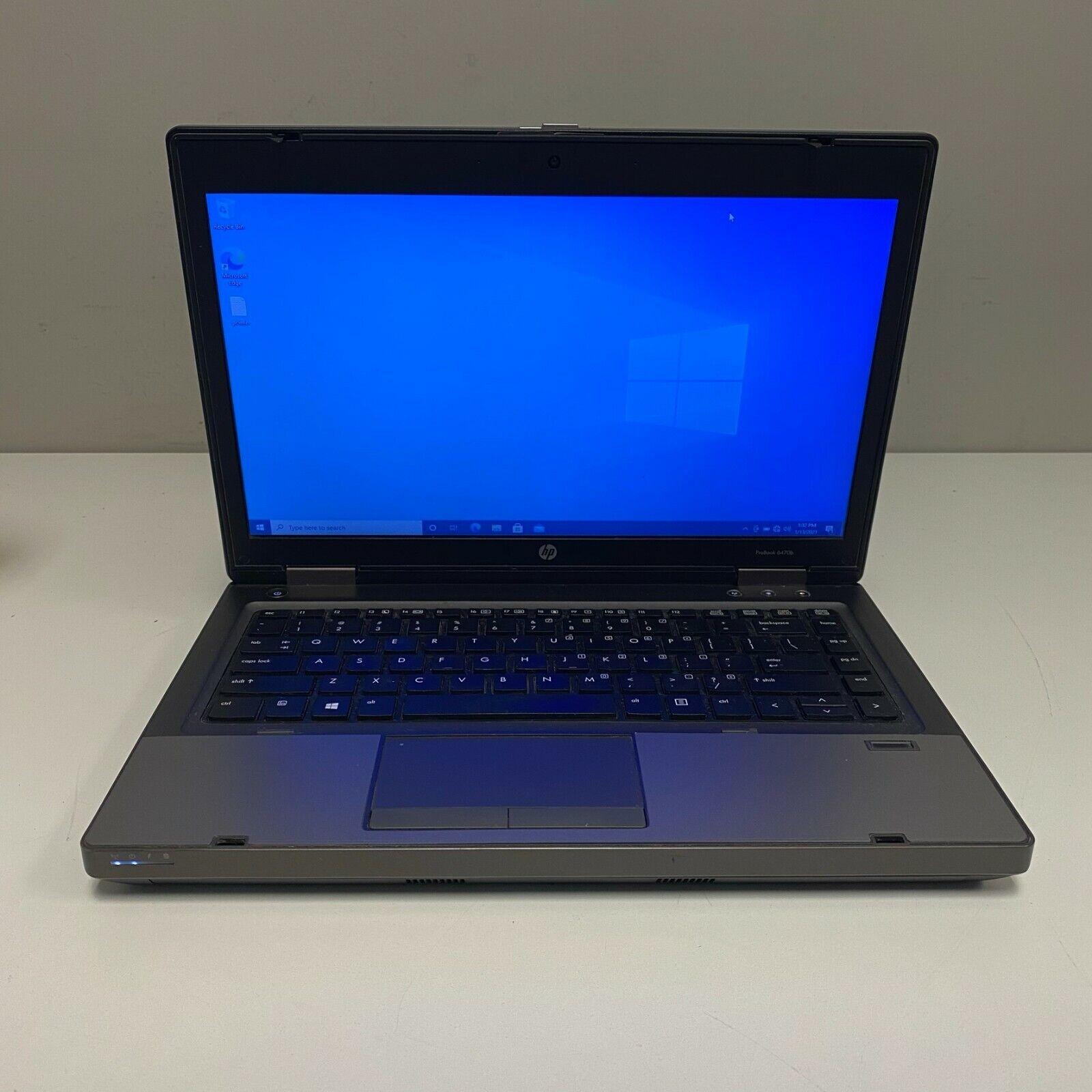 "Laptop Windows - HP ProBook 6470B 14"" Core i5-3320m 2.6GHz 4GB 500GB WiFi WINDOWS 10 PRO LAPTOP"