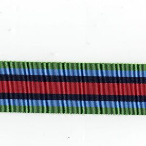 Medal-Ribbon-O-S-M-Sierra-Leone-Full-Size-Sold-in-6-inch-Lengths
