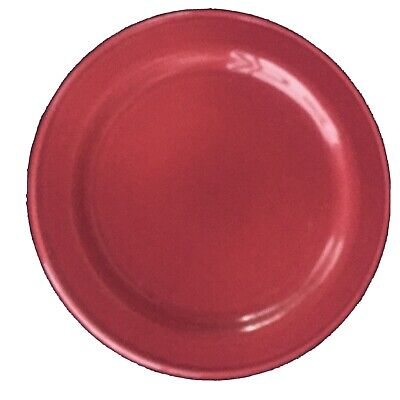 Roseville;Workshop Gerald Henn; Cranberry Jewelware, Set Of 4 Salad Plates, VG
