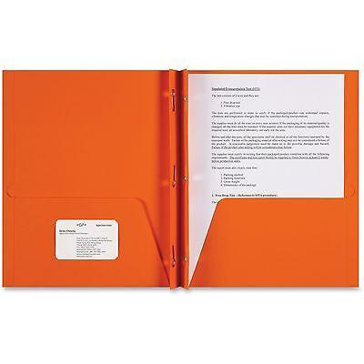 Sparco 2-Pocket Folder 3-Prong 9-1/2