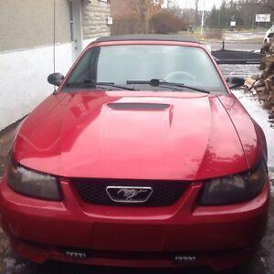 Mustang décapotable 2002