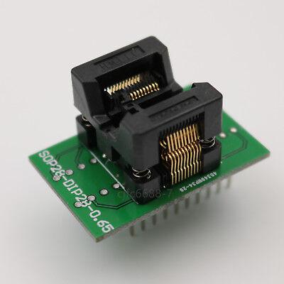 Ssop20 To Dip20 Pitch 0.65mm Ic Chip Programmer Adapter Test Converter Sockets