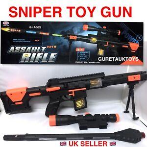 KIDS CHILDREN TOY SNIPER RIFLE COMOUFLAGE LIGHT VIBRATION TOY GUN BEST XMAS GIFT