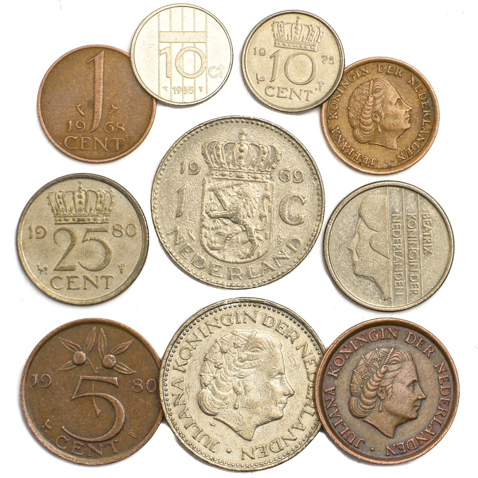 10 COINS FROM BARBADOS OLD COLLECTIBLE COINS CARIBBEAN ISLAND BARBADIAN DOLLAR