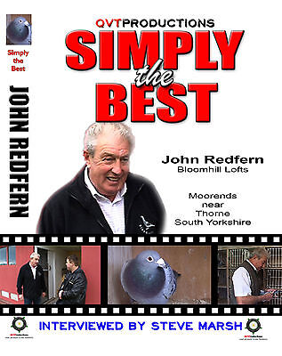 JOHN REDFERN RACING PIGEON DVD