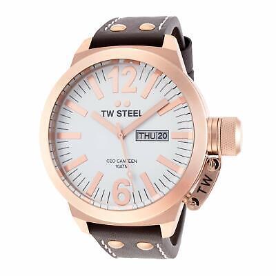 NEW TW Steel Men's CEO Canteen Men's Quartz Watch - CE1017