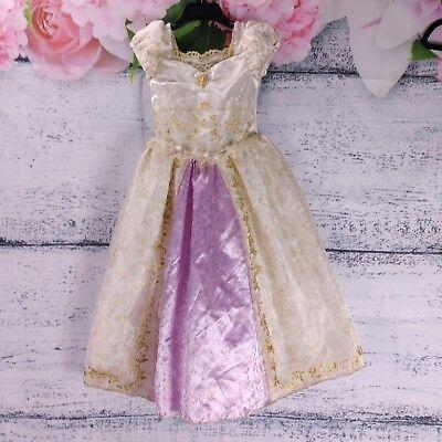 Tangled Wedding Dress Costume (Disney Store Tangled Costume Girls Size XS 4 Rapunzel Wedding)
