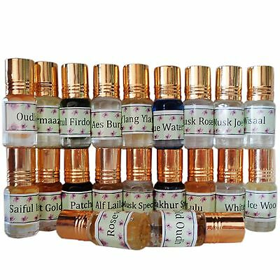 Arabic, Indian Occidental Attar Cpo Oil 3 Ml, Alcohol Free, Buy 3 Get 2 Free!! Image