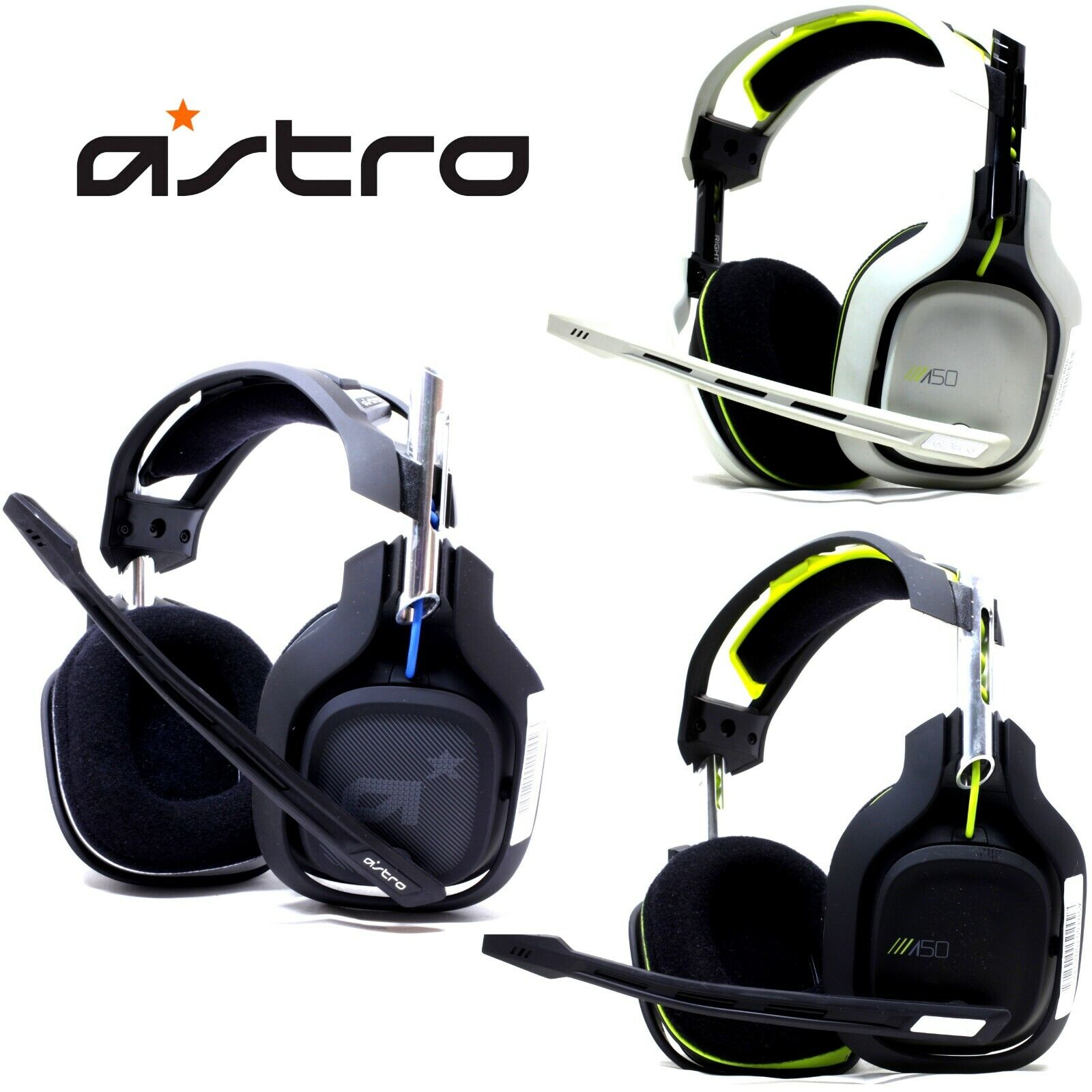 e4be30bbe34481 Astro Gaming A50 Wireless Headset + Base Station for Xbox & PC for sale  online | eBay
