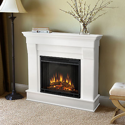 RealFlame Chateau Electric Fireplace Heater Espresso or White