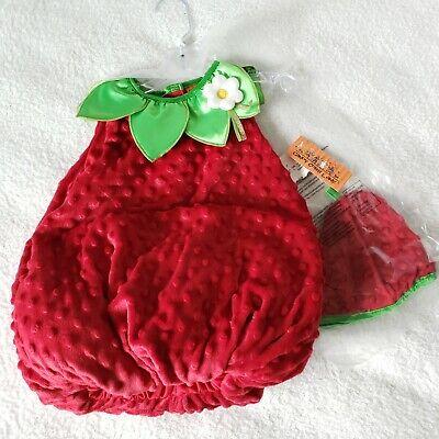 Candy Corn Lane Strawberry Baby Costume - Kostüm Candy Corn