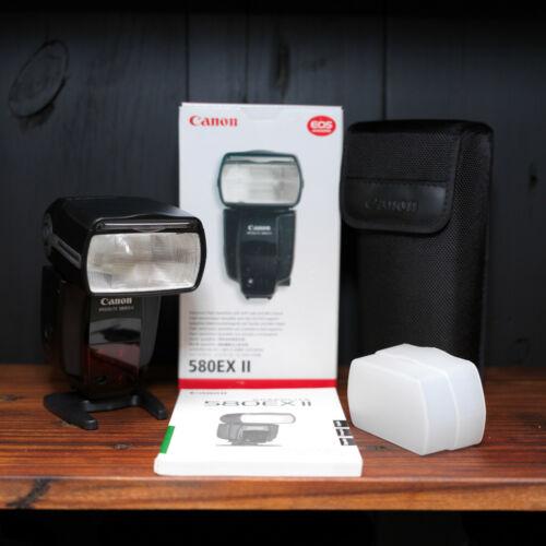Canon Speedlite 580EX II Shoe Mount Flash w/STO FEN Diffuser