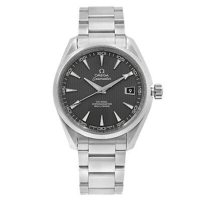Omega Aqua Terra Grey Dial Steel Automatic Mens Watch 23110422106001