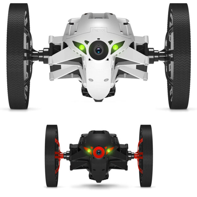MiniDrone Jumping Sumo White Parrot Jumps up to 80 Cm Application Free New