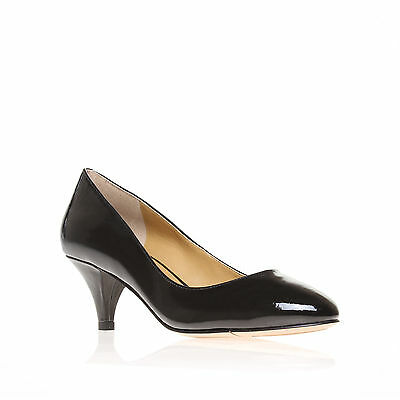 SWAYMESO3 NINE WEST PATENT BLACK WOMENS LADIES SHOE