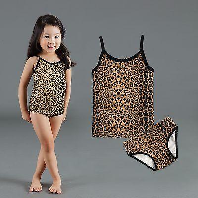 "Vaenait Baby Kids Girls Panties Undershirts + Brief ""Jane un"