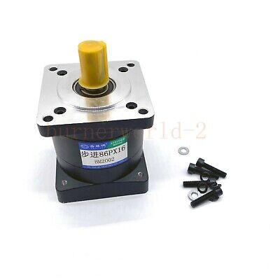 Servo Step Motor Planetary Speed Reducer Gearbox For Nema34 Motor Ratio 161 Cnc