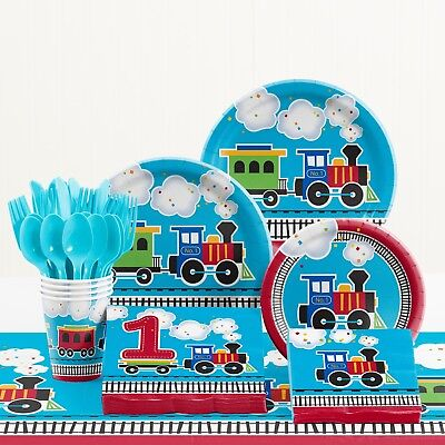 Birthday Party Supplies Kit (Train Birthday Party Supplies)