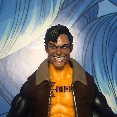 Marvel Legends Custom #89 NEW MORPH Head ONLY smiling Cast Painted!!!