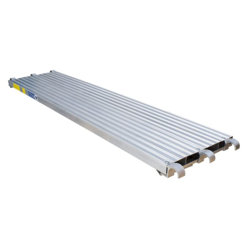 All Aluminum Scaffold Deck Walkboard 7 ft. Plank • Construction Equipment
