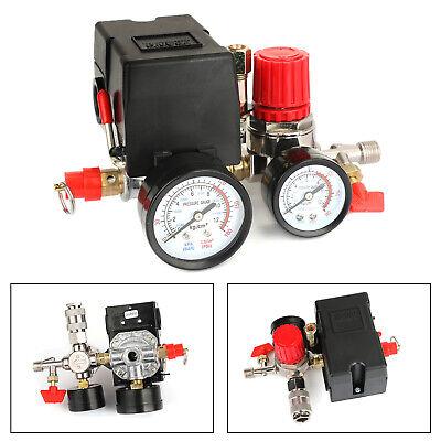Air Compressor Pressure Control Switch Manifold Regulator Fitting Ca