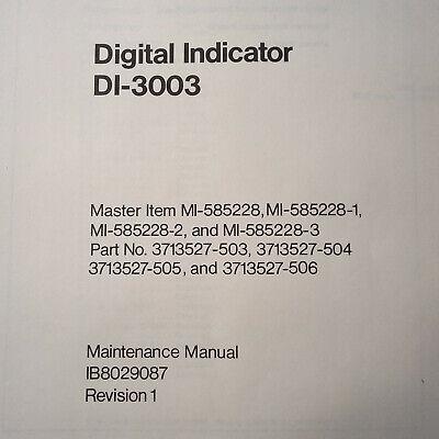 Service Indicator Manual - RCA DI-3003  Radar Indicator Service Manual