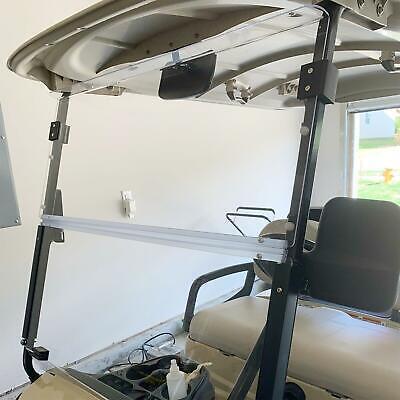 Folding Acrylic Clear Windshield for Yamaha Drive G29 Golf Cart New