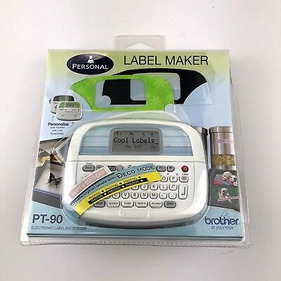 Brother Pt-90 Label Thermal Printer Electronic Labeling System Label Maker Nip