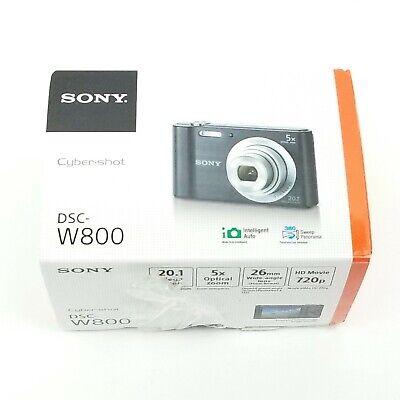 Sony Cyber-Shot DSC-W800 20.1MP Digital Camera (Black) Free Shipping