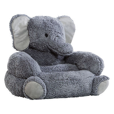 Trend Lab Elephant Plush Character Kids Novelty Chair