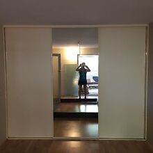 Built-In Wardrobe sliding doors with frame and track Melville Melville Area Preview