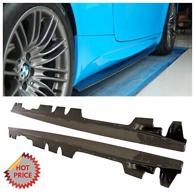 BMW 08-13 E92 COUPE CONVERTIBLE M3 CARBON FIBER SIDESKIRT EXTENSION SPLITTERS