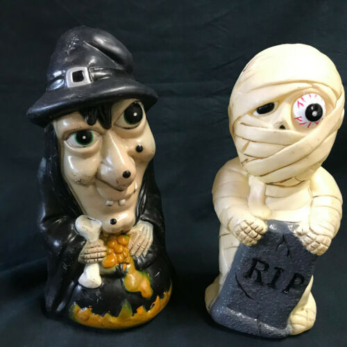 Dynagood Blow Molds Set of 2 Witch Mummy 2001