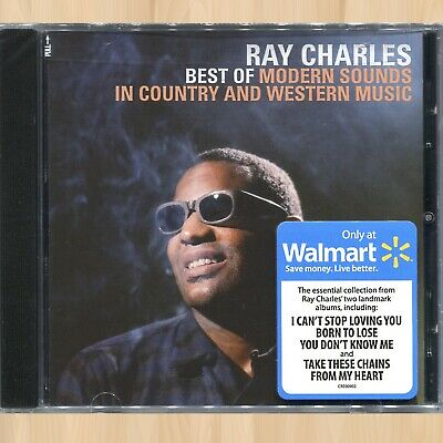 RAY CHARLES Best of Modern Sounds in Country and Western Music WALMART CD