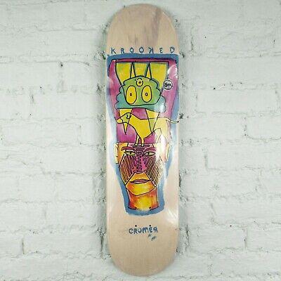 Krooked Skateboards Cromer Crowned Deck – 8.25