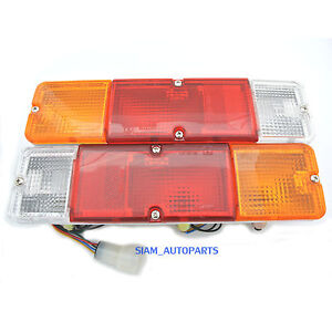 2 x REAR BACK TAIL LIGHTS LAMPS SUZUKI SJ 413 NEW NEARSIDE OFFSIDE RH LH NEW