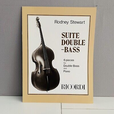 Characteristic Pieces Book 2  Double Bass and Piano Emile Ratez Book Only RM190