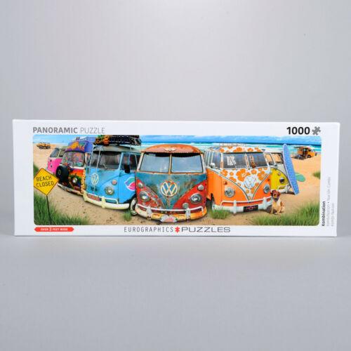 Volkswagen Bus KombiNation Panaramic Puzzle 36 x 13 1000 Pieces 300094