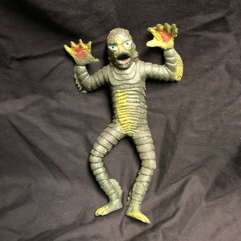 Creature From The Black Lagoon Ahi Vintage 1973 Jiggler Rare Rubber Figure
