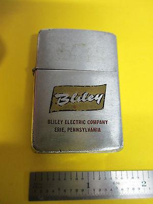 Vintage BLILEY ELECTRIC LIGHTER promo quartz maker ZIPPO from Bradford, PA