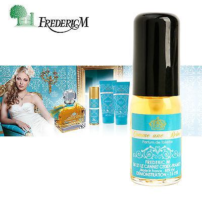 (FREDERIC M Women Perfume Comme une Reine Natural EDT Mini Parfum Fragrance 0.5oz)