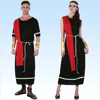 Toga Toga Toga (Kostüm Römer o. Römerin schwarze Toga Antike Römerkostüm Römerinkostüm Rom)