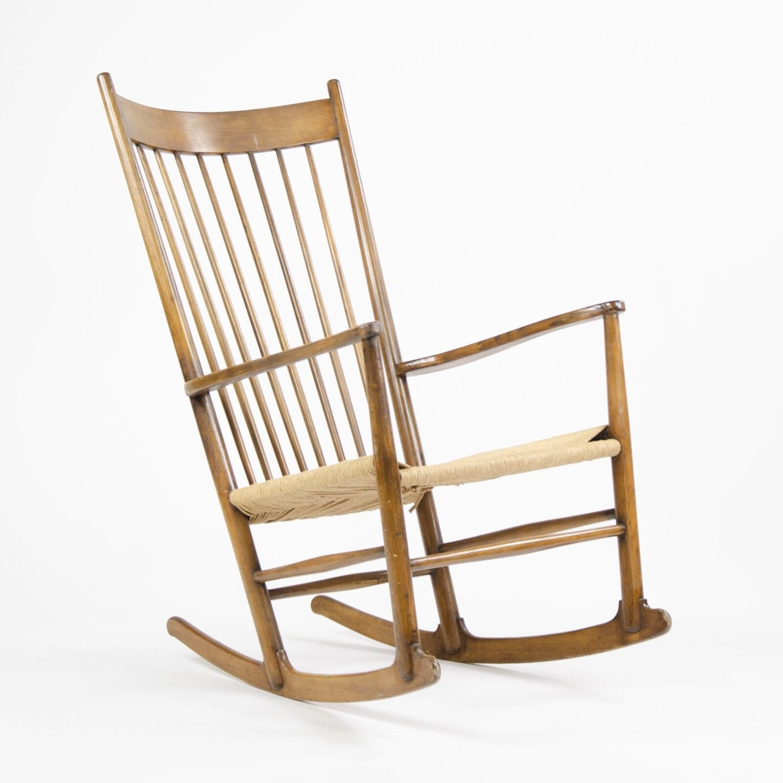 Swell Details About Vintage 1960S Hans Wegner J16 Rocking Chair Mobler Fdb Denmark Eames Knoll Kvist Unemploymentrelief Wooden Chair Designs For Living Room Unemploymentrelieforg