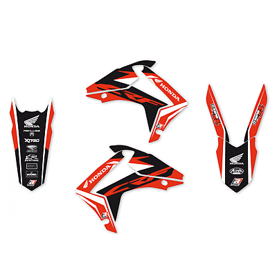 adesivi grafiche Honda Crf r 250 2014 2015 2017 Crf r 450 2013 – 2016 2145N moto