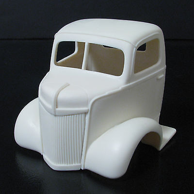 Jimmy Flintstone 1941 Ford Cab-Over Truck Cab Resin Body #298 for sale  Shipping to India