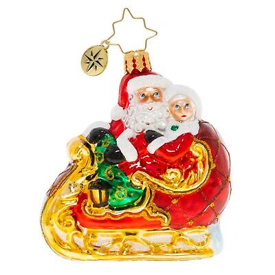[NEW Christopher Radko DATE NIGHT Christmas Ornament 1020257 Little Gem </Title]