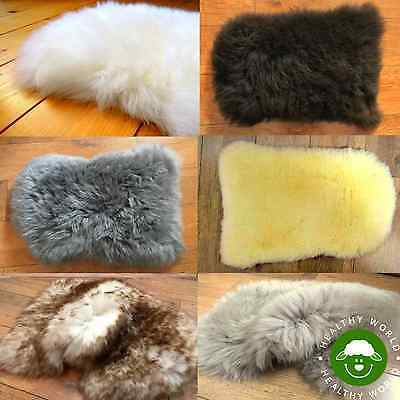NEW STOCK! Genuine SHEEPSKIN Chair Motorcycle Seat COVER Dog Cat Bed + DISCOUNT!
